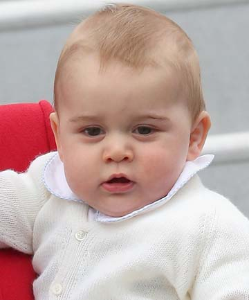 PRINCE GEORGE: Welcome to public life.