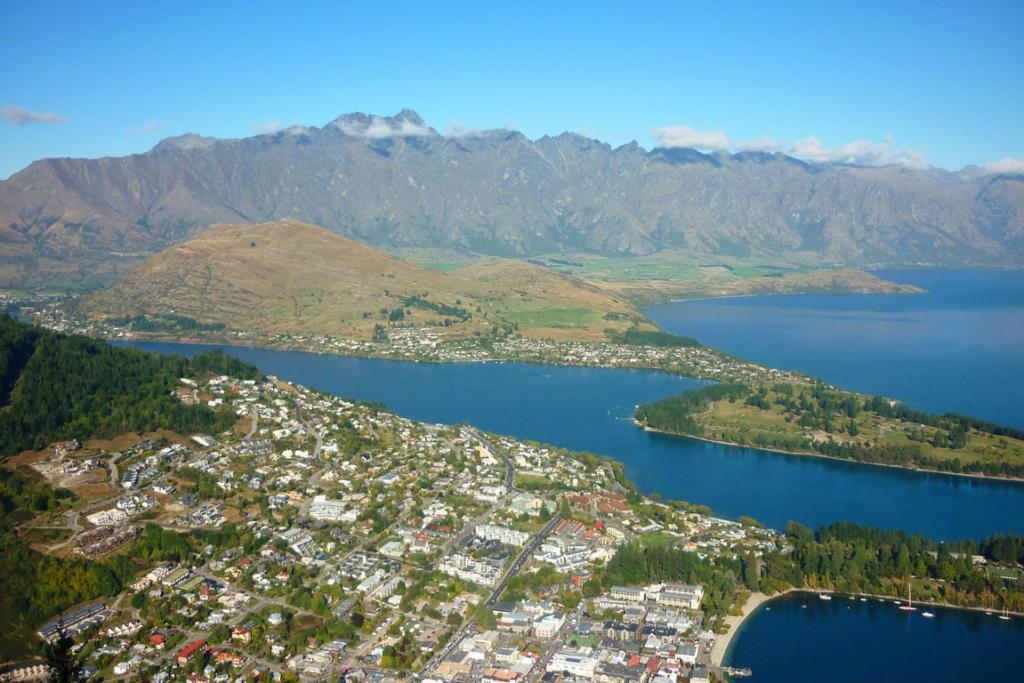 2. Queenstown, New Zealand.