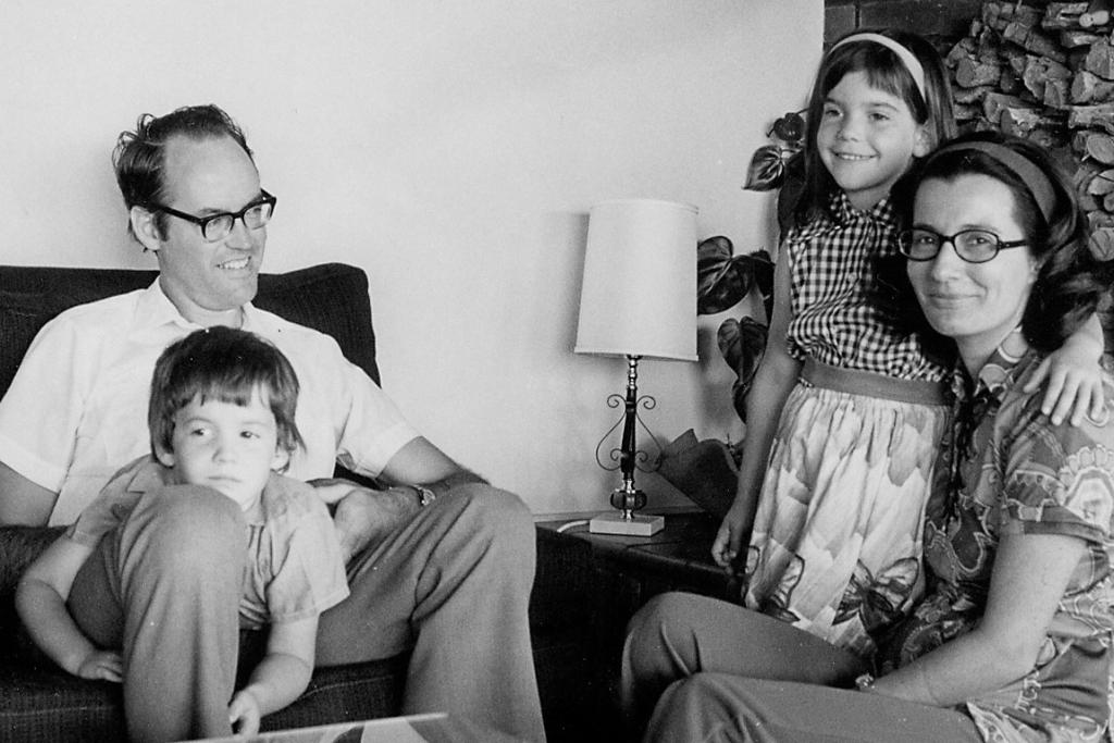 Don Brash with family