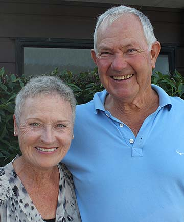 AUSTRALIAN RIDEABOUTS : Orewa's Del and Cindy Henley are  on an adventure, riding from Adelaide to Brisbane.b