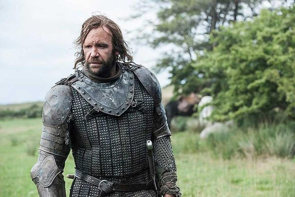The Game of Thrones season 4: The Hound.