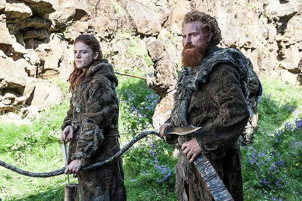 Game of Thrones season 4: Wildlings Ygritte and Tormund.
