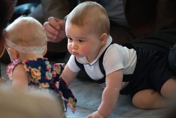 Prince George's Plunket playdate