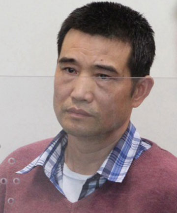 "IN COURT: Yun ""Jack"" Qing Liu is accused of murdering his partner Cissy Chen."