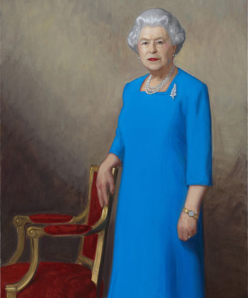 FIT FOR A QUEEN: Her Majesty Queen Elizabeth II by Nick Cuthell was commissioned specially for the New Zealand Portrait Gallery.