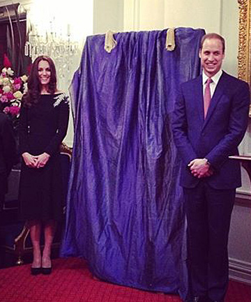 Duke and duchess state reception