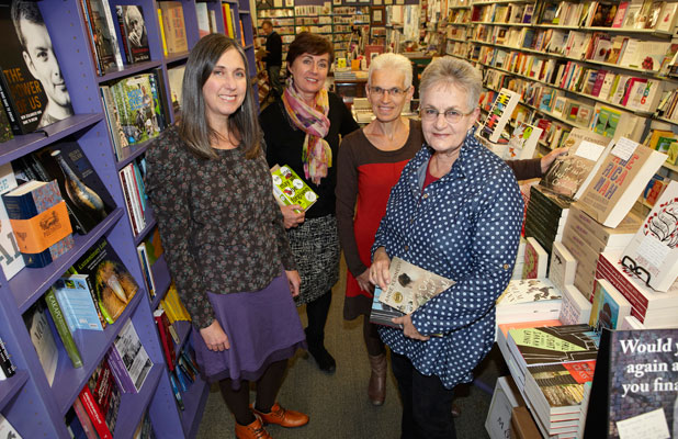Auckland Women's Bookshop staff