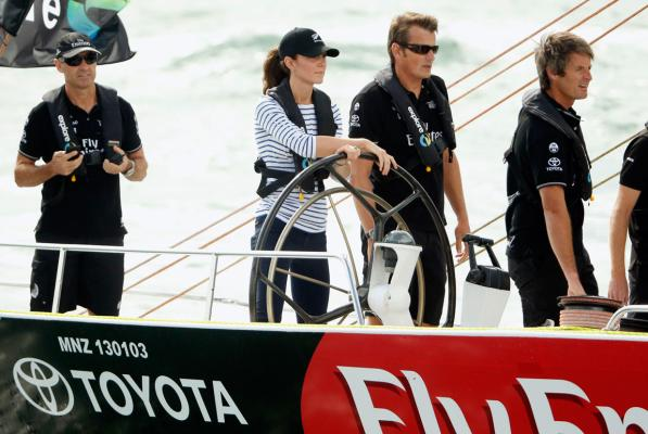 Royal tour of Auckland