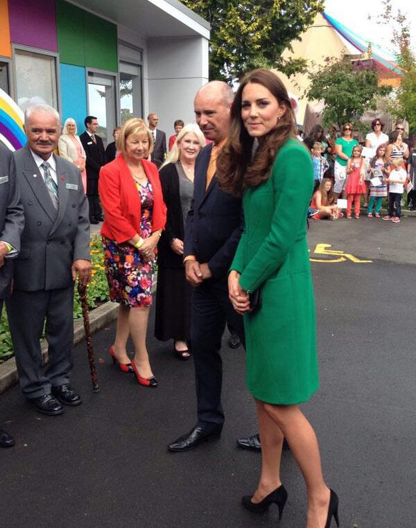 The Duchess has arrived at Rainbow Place.