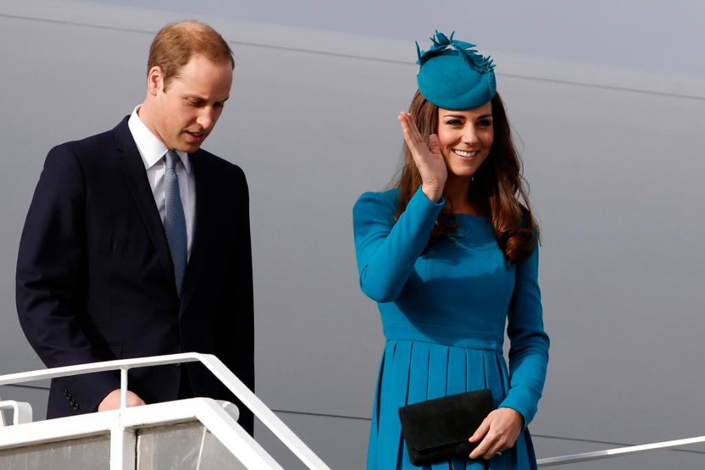 Royal tour heads south