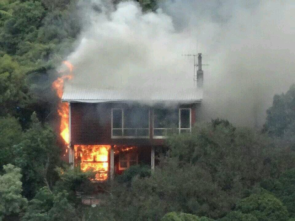 Tawa House fire