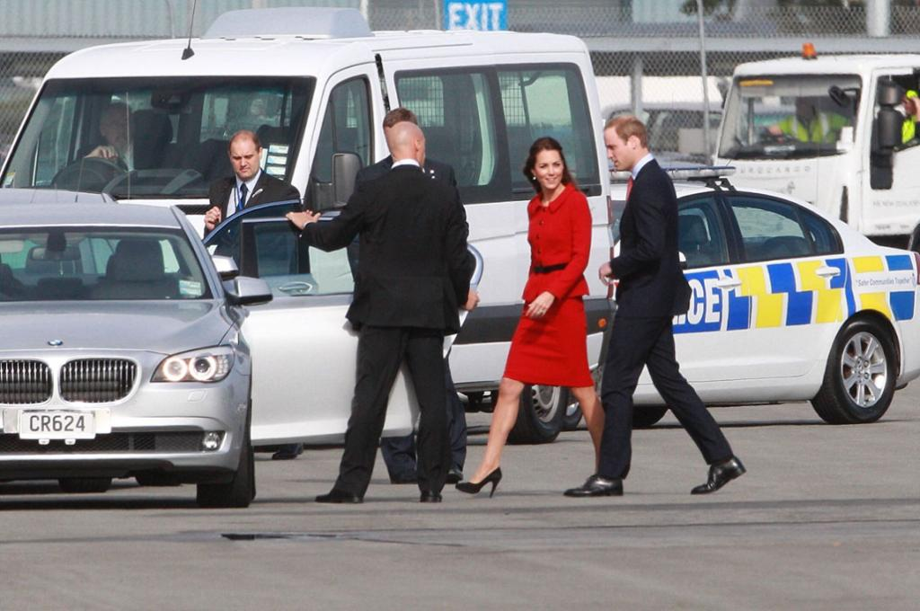 Royal tour in Christchurch
