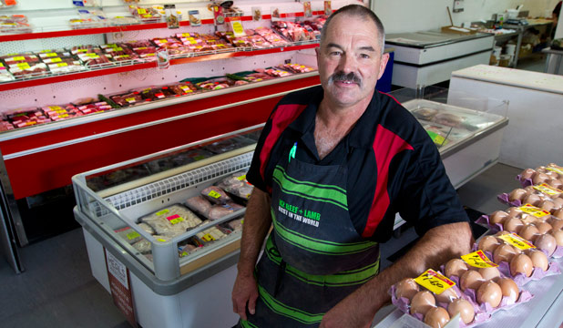 SURVIVAL STRATEGY: Matamata's Owen Henderson, owner of The Meat Company.