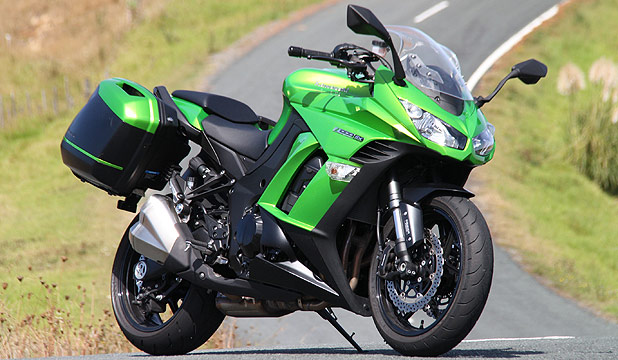 Z1000 SX Kawasaki Added A Screen Faired Bodywork And Accessory Panniers To The