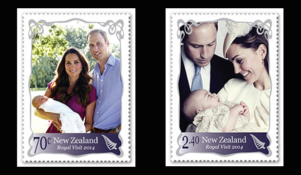 STILL POPULAR: The two special commemorative stamps released to celebrate the royal tour are selling out nationwide.