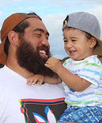 Charlie and Riley Faumuina