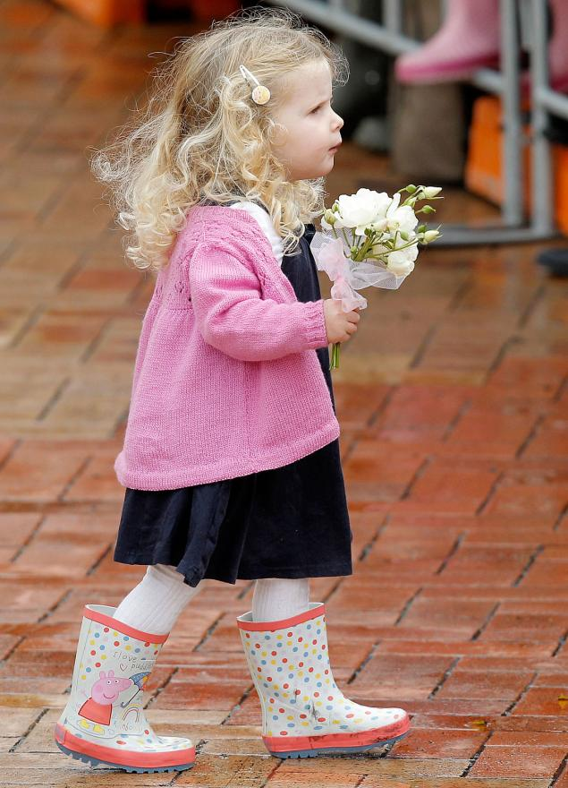 Flowers always made a great gift for a royal.