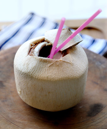 THE INCREDIBLE COCONUT: Its water is delicious and its oil does include good fat - but it's still, at the end of the day, fat.