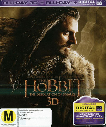 Blu-ray review: The Hobbit- The Desolation of Smaug 3D