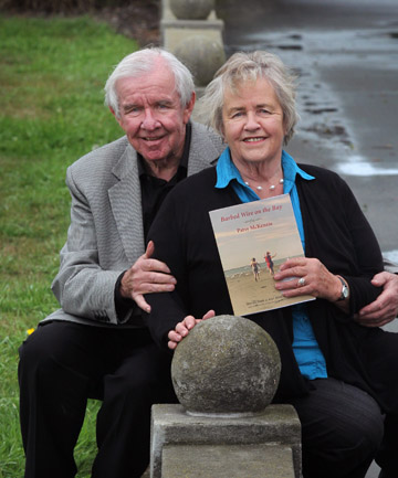 WARTIME MEMORIES: Patsy McKenzie and her brother Wynne Raymond.