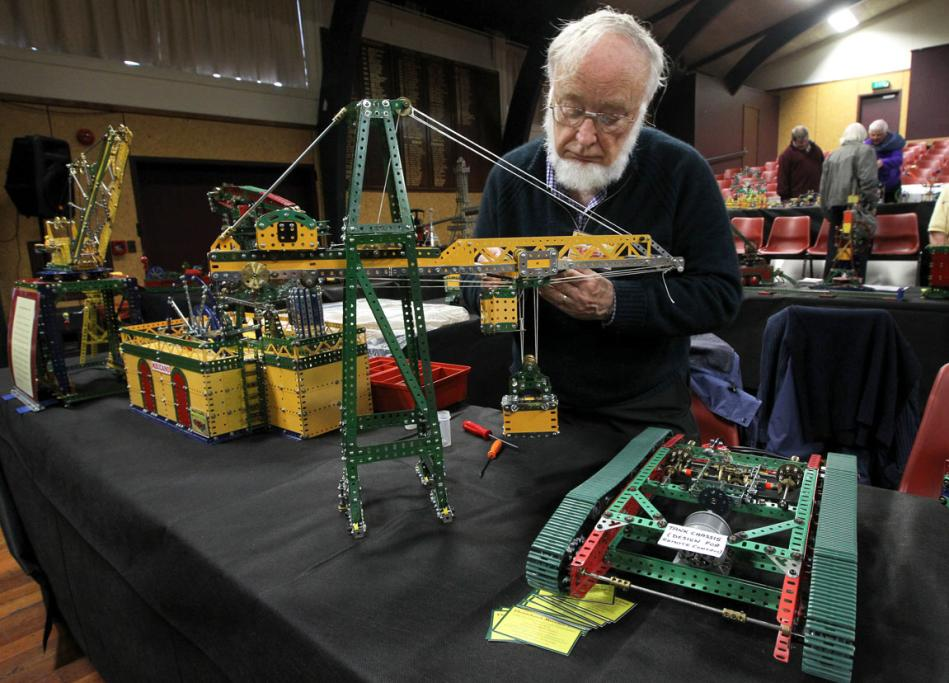 Rodger Keey and his container crane.