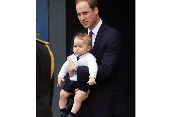 Prince George's cutest facial expressions