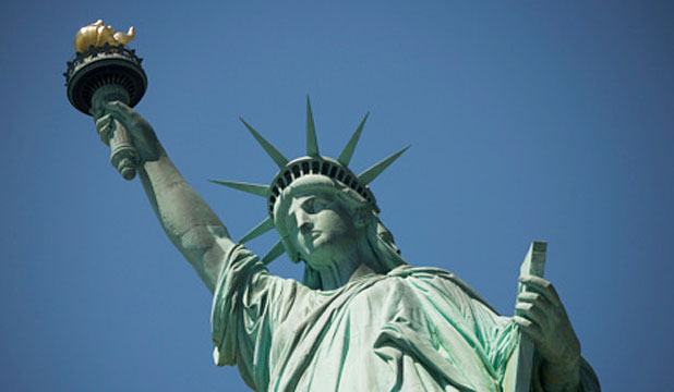 CROWNING GLORY: The Statue of Liberty is a tourist favourite.