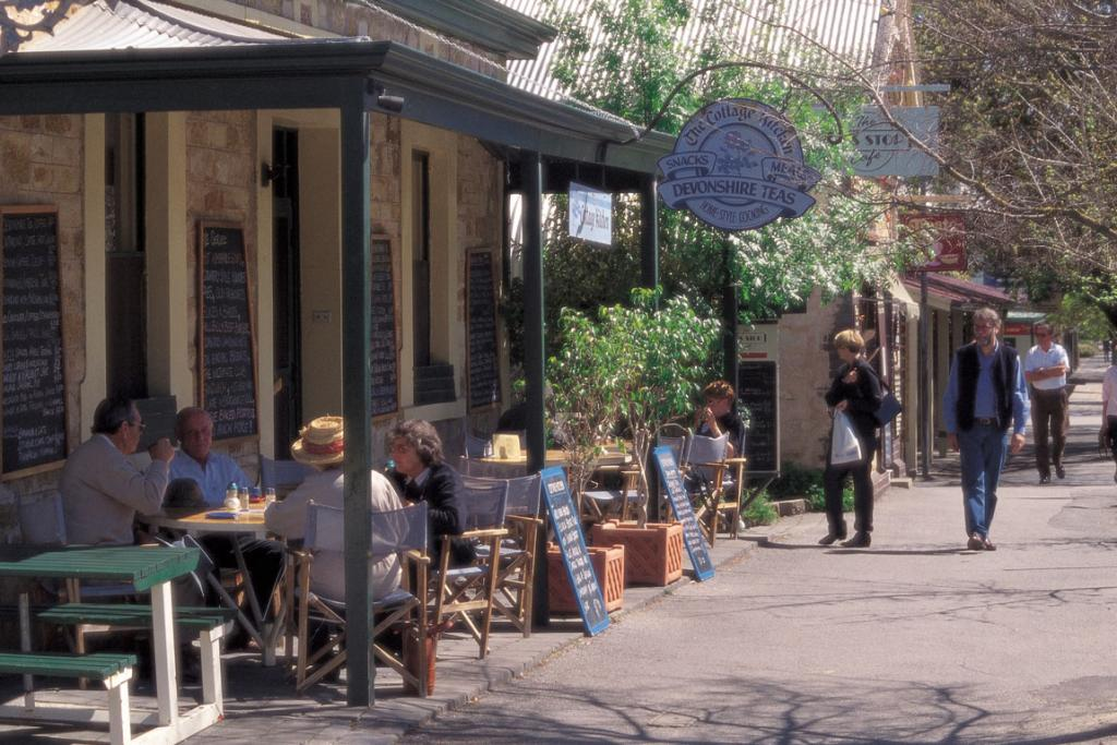 The town of Hahndorf offers a little slice of Bavaria in the Adelaide Hills.