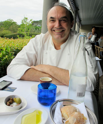 CULINARY GENIUS: Stefano Manfredi of Bells of Killcare, who says for him, food is all about the feel.