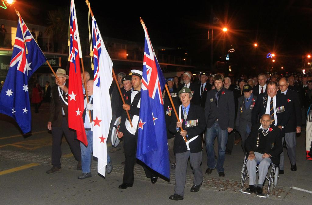 Anzac Day Parade and Dawn Service from Picton.