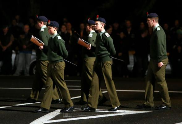 New Plymouth dawn service