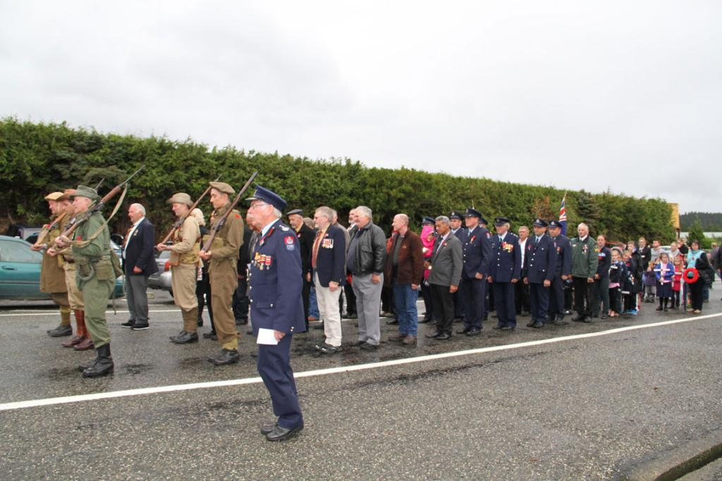 Southern Anzac services