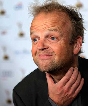 JOINING DAD'S ARMY: Toby Jones is set to play Captain George Mainwaring