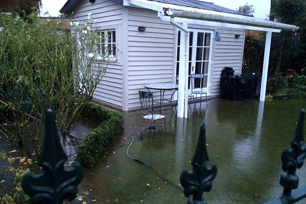 FOURTH TIME: This Ngaio St property in St Martins has flooded repeatedly.