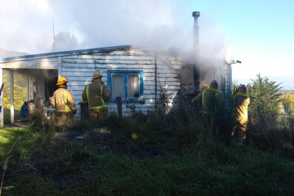 Kaitangata house fire