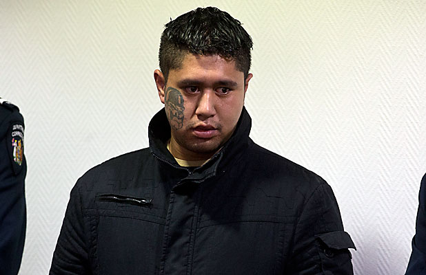 CONVICTED MURDERER: Mauha Huatahi Fawcett appears in the Christchurch High Court for his sentencing today.