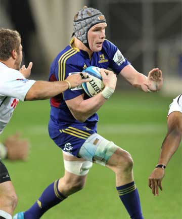 LOCK IT IN: Southland lock Josh Bekhuis will start in the Highlanders' second-row for the first time in 2014.