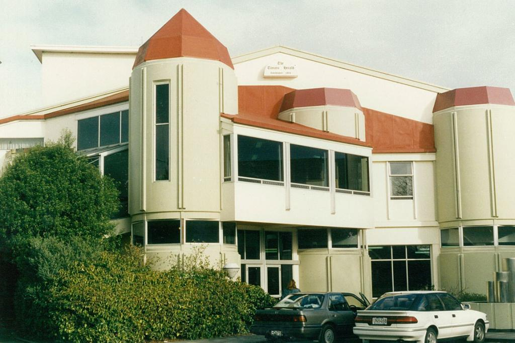 The Timaru Herald was located at 56 Bank St from 1984 to 2012.