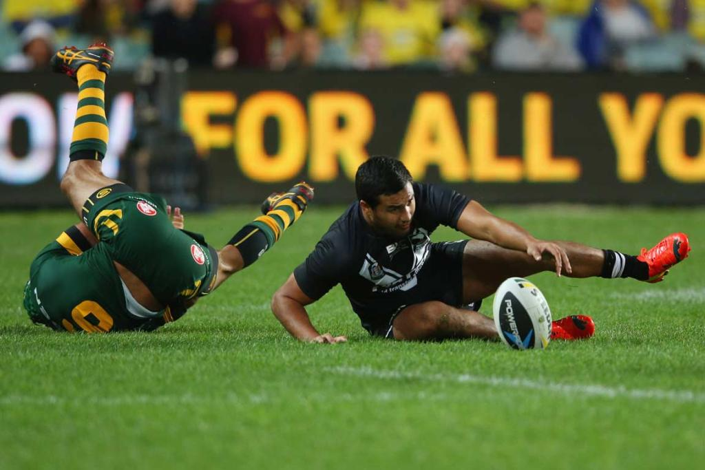 Johnathan Thurston and Peta Hiku