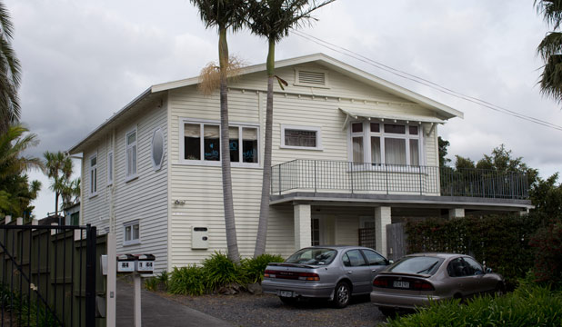 UP FOR GRABS: The property at 44 Wrights Rd in Point Chevalier is in the middle of a bitter family feud.