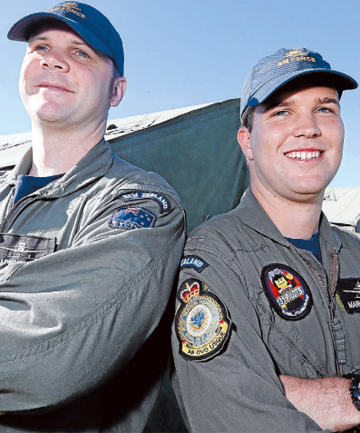 Royal New Zealand Air Force trainee pilots