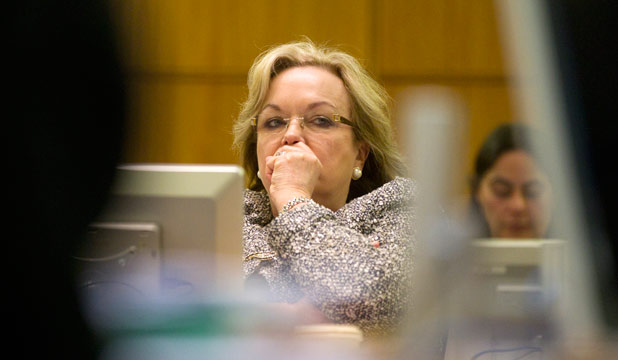 JUDITH COLLINS: Known as Crusher Collins for her tough approach to boy racers, Labour hopes to turn the tables and put the squeeze on the minister.