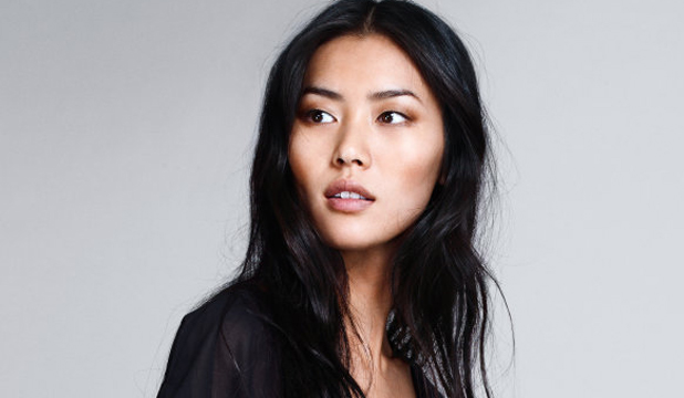 ORIENTAL BEAUTY: With her sharp cheekbones, feline eyes and long straight hair - model Liu Wen portrays the ideal exotic beauty.