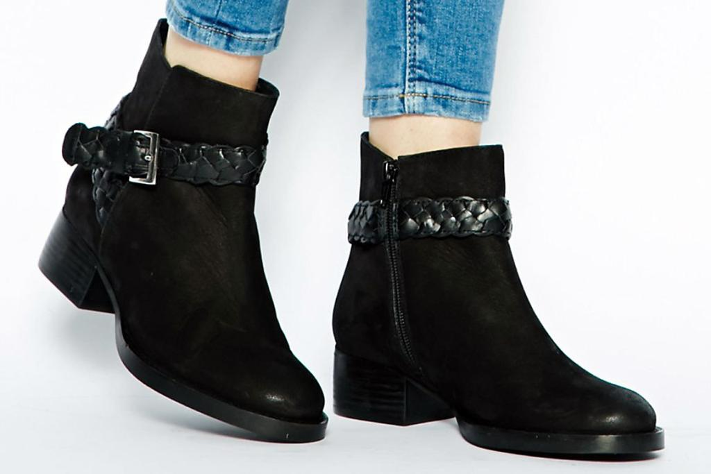 ASOS Antwerp Leather Boots