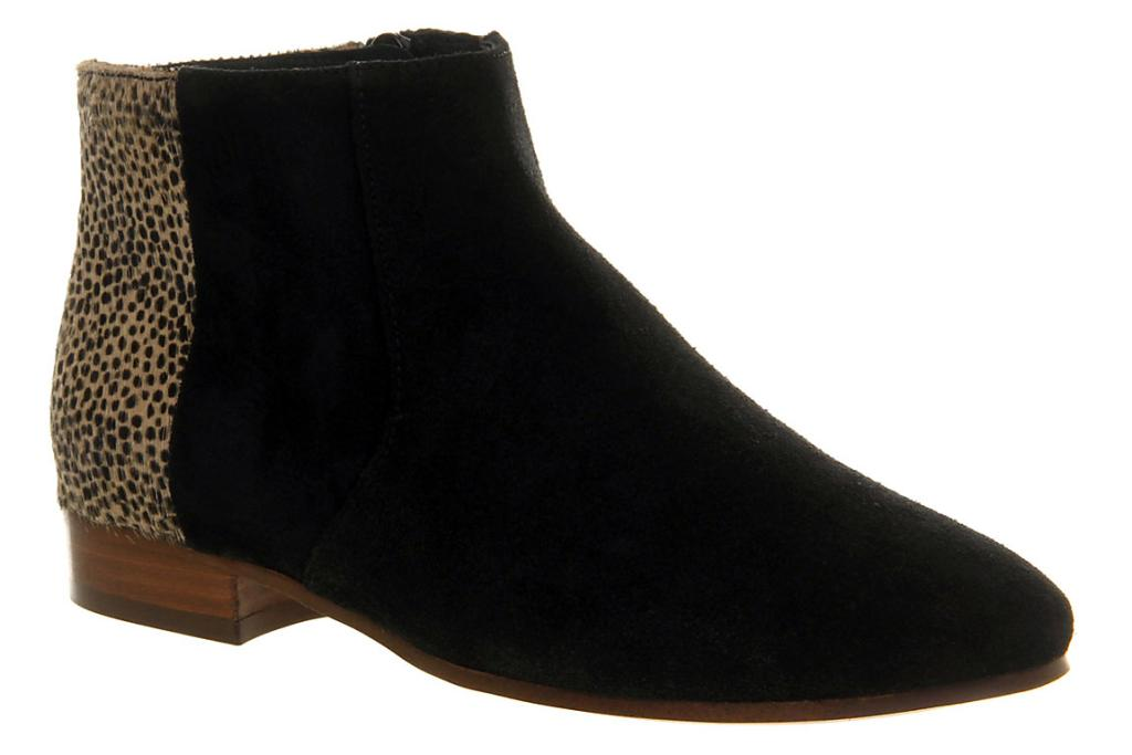 OFFICE Metric Black and Leopard Boots