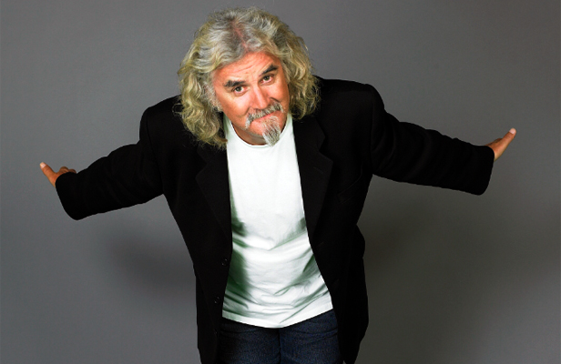 FUNNYMAN: Billy Connolly has the sense of humour most people can only hope to have in their 70s.