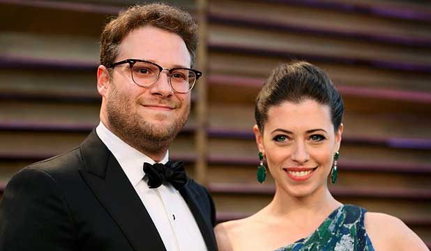 Seth Rogen's wife, actress and writer Lauren Miller, t