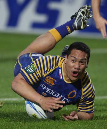 SITTING FRONT ROW: Former Timaru Boys High captain Aki Seiuli has been called into the Highlanders squad as front row cover.