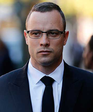 MENTAL EVALUATION: Oscar Pistorius is on trial for the murder of his girlfriend Reeva Steenkamp.