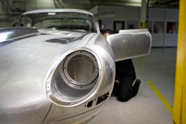 The Lightweight E-Type Jaguar is reborn.